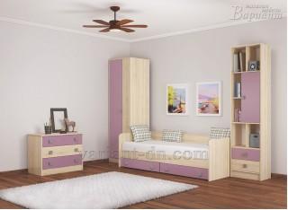 Детская спальня Колибри виола