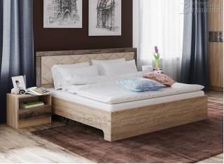 Кровать с мягким изголовьем Мадлен 1,6х2м